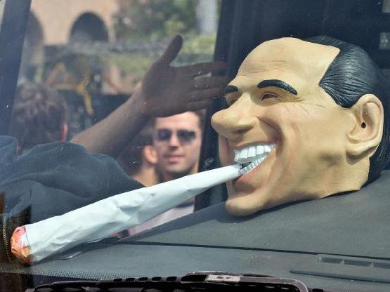 Silvio Berlusconi-weed-market-italy-