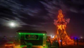 La Marijuana non autorisée au Burning Man