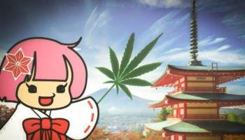 Den japanske maskot af Hamp