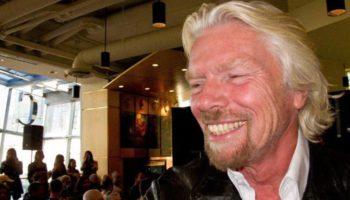 Richard Branson đến New Zealand