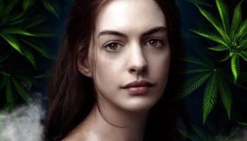 Anne Hathaway viser sig at være en stoner