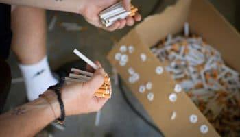 La police réquisitionne les cigarettes Suisses au CBD