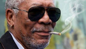 Morgan Freeman's ukrudt er af interesse for russiske medier