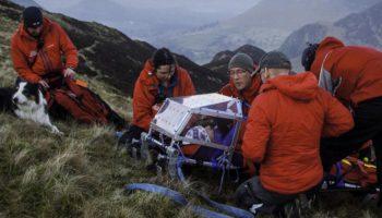 Sauvetage en montagne d'un groupe de stoners anglais