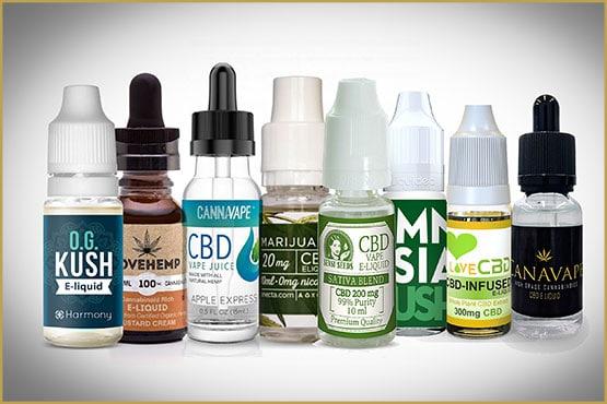 Upward trend for e-liquid CBD at the expense of nicotine