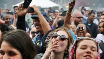Færre cannabisrøgere i alderen fra 12 til 17 år i lande, der har legaliseret.