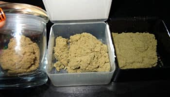 hashish, dry sifting, making hash, Bubble hash