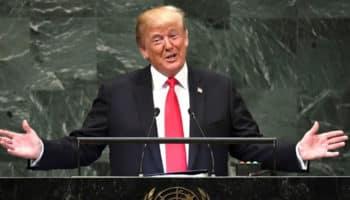Τραμπ, πόλεμος κατά των ναρκωτικών, ΟΗΕ