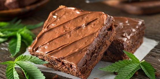 plads kage brownie