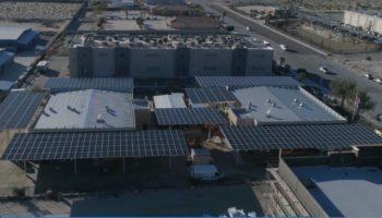 Candescente, energía renovable, proyecto solar comercial.