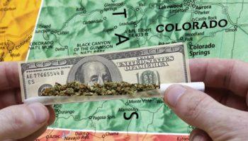 skatteindtægter, milliarder dollars, Colorado