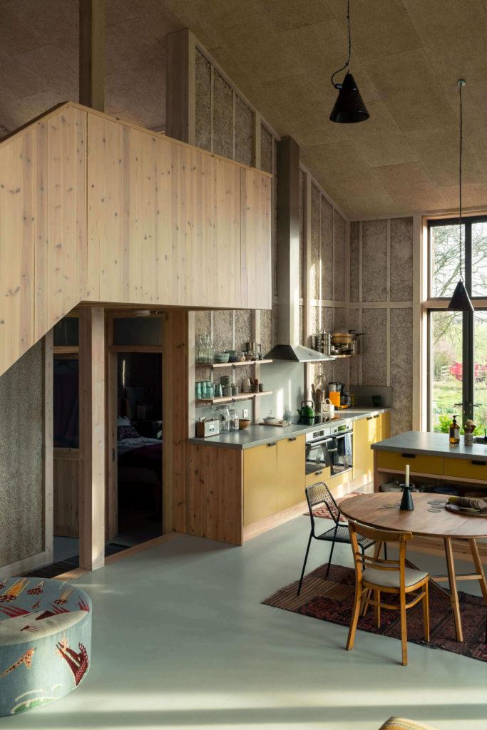 low carbon house