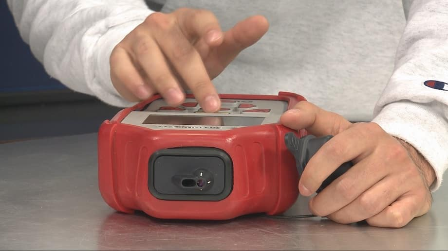 сканер конопли, лазер