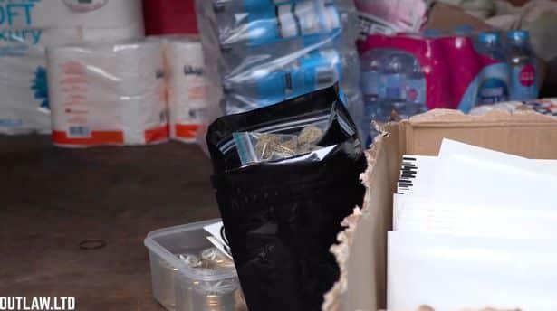 masked hero, toilet paper, Outlaw Lockdown Essentials