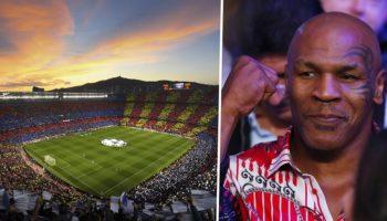 Mike Tyson ,Camp Nou