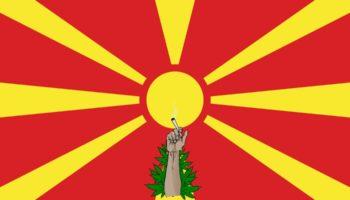 Скоп'є, легалізація конопель Македонія, Македонія