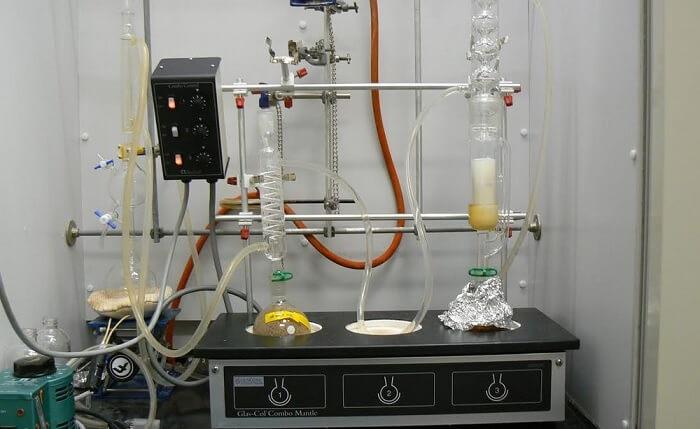 chromatographie sur colonne