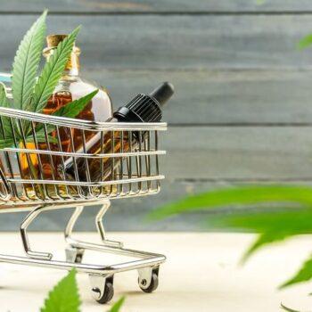 medium cannabis basket